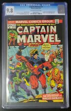 Captain Marvel #31 Marvel Comics 1974 CGC 9.8 Avengers Thanos App