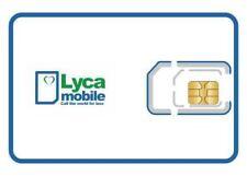 10 x BRAND NEW LYCA MOBILE PAYG Trio SIM CARD Standard/Micro/Nano