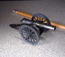 Vintage Die-Cast Cannon Pencil Sharpener