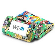 Skin Decal Cover for Nintendo Wii U Console & GamePad - Super Smash Bros Kirby