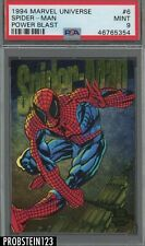 1994 Marvel Universe Power Blast #6 Spider-Man PSA 9 MINT