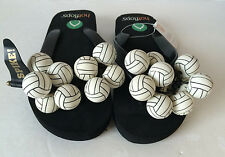 Hotflops Volleyball Sandals Flip Flops - Size Small  6 / 7 - 23.5 cm