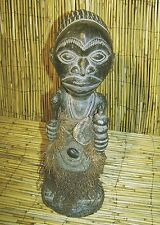 "African Bembe Male Shrine  Figure from the DRC (Congo) 18"" Tall"