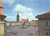 B45194 Ceske Budejovice Zizka Square cars voitures    czech