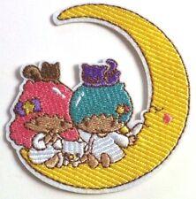 Little Twin Stars KIKI LALA & Friends on the Moon Sanrio Cartoon Iron On Patch