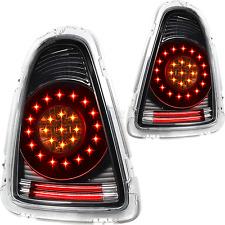 LED Lightbar Rückleuchten Set BMW Mini R56 R57 Cabrio Bj. 06-10 klar schwarz
