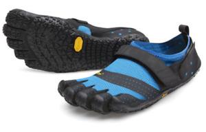 Vibram Fivefingers V-Aqua Bleu/Noir Homme Ue Tailles 39-49 Neuf