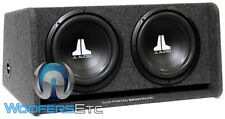 """JL AUDIO CP212-W0V3 (2) 12"""" 12W0V3-4 SUBWOOFERS SPEAKERS LOADED PORTED BASS BOX"""