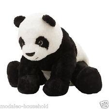 IKEA KRAMIG Giocattolo morbido Bianco Nero Peluche Peluche Panda BAMBINO KIDS BEAR L:30c b111