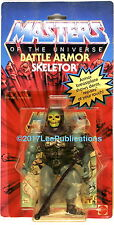 Mattel Toys MOTU He-Man Masters of the Universe 1983 Battle Armor Skeletor