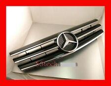 Mercedes Benz R129 SL320 SL500 Grille Grille 90~02 BLACK AMG Front Grille 3 fins