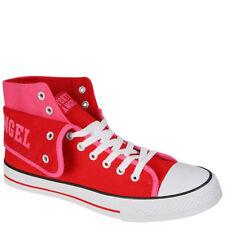 Mujer Hi Top entrenadores en rosa y rojo de Tokyo Ángel Size 6 NUEVO EN CAJA