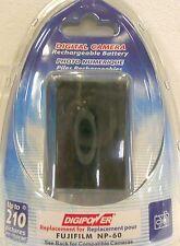 Digipower Rechargeable Battery for Fujifilm NP-60 IE 526 Kodak KLIC FREE SHIP