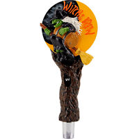 Witch's Brew Beer Tap Handle - Draft Beer Kegerator Home Bar Custom Faucet Lever