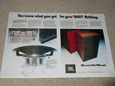 JBL L166 Speaker Ad, 2 page, 1976, Article, Articles, Info, Studio / Home