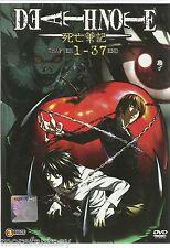 DVD Death Note 死亡笔记 Chapter 1 - 37 End (English Dub & Sub)_DCA