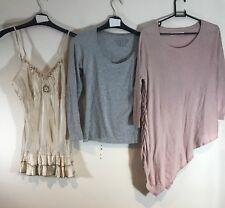 BUNDLE OF LADIES CLOTHES X3 : WOMEN'S SIZE 10 : TOPS :  NEXT / E-VIE <B65