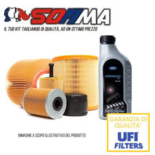 Kit tagliando 4 filtri + 4lt Ford 5W30  FORD FOCUS II, C-MAX 1.6 TDCI KF0021/so