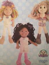 """Simplicity Sewing Pattern 5742 Design Your Own 14"""" Doll Uncut"""