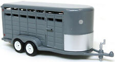 1/64 GREENLIGHT SILVER LIVESTOCK TRAILERR