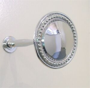 *CLEARANCE** 1 x LARGE SIZE CLASSIQUE CHROME curtain HOLD BACK Tie hold backs
