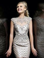 Sequin Dress - Silver   Size 12 ORP: $95