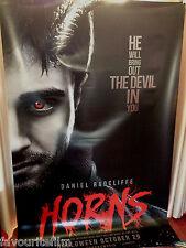 Cinema Banner: HORNS 2014 (Daniel Radcliffe) Juno Temple Max Minghella