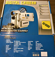 Digital 300K ArcSoft Camera Video Clip USB DC4000 PC/Web Cam Mode w/ Case NEW