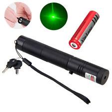 Starker Laserpointer Grün mit Sicherheitsschlüssel und Akku