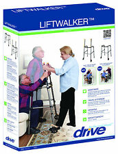 Drive Medical Lift Walker with Retractable Stand Assist Bars 0277LW New in Box
