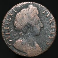 1695-1700 | William III Farthing | Copper | Coins | KM Coins
