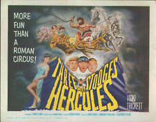 The Three Stooges Meet Hercules (1962) 11x14 title card #nn