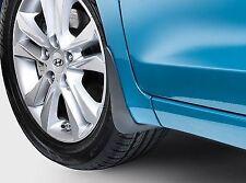Genuine Hyundai i30 2012 onward Front Mud Flap Set A6460ADU10