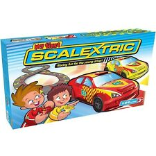 My First Scalextric 2 Pack, Kids Slot Car Racing Action Set, 1:64 Scale