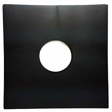 "Black Paper Record inner Sleeves (100 pack) LP Vinyl 12"" Album 20lb. Stock 33rpm"