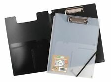 eco-eco 6 x A4 50% PP Recycled Foldover Clipboard With Two Storage Pockets