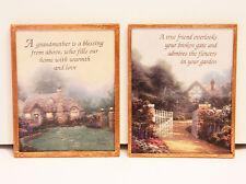 Thomas Kinkade Refrigerator Magnets, Set Of 2