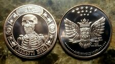 Memento Mori - The Last Laugh 1oz. Pure Copper Bullion Round!!
