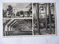 Ansichtskarte Espelkamp-Mittwald 50/60er?? Kirche Glocke