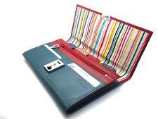 Golunski Lockable Leather Family Organiser Travel Document Wallet - Multi