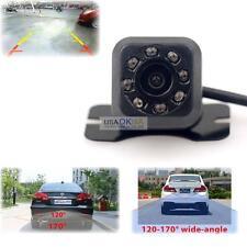Waterproof CMOS 8 LED Night Vision Car Rear View Reverse Backup Parking Camera