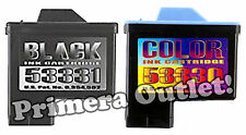 Primera Bravo XR Blu Disc 53330 Color & 53331 Black Cartridges - Combo Pack