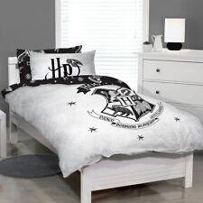 *New* Harry Potter Hogwarts Crest Single Bed Quilt Doona Duvet Cover Set Twin