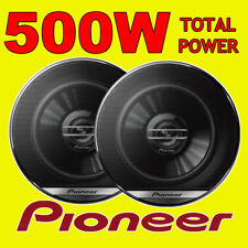 PIONEER 500W TOTAL 2-WAY 5.25 INCH 13cm CAR VAN DOOR/SHELF COAXIAL SPEAKERS PAIR