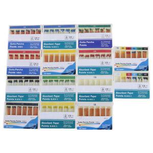 Dental absorbent 120 points 15-40# 0.02 gutta percha taper endodontic_H4A Fs