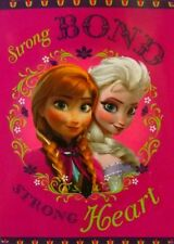 Disney Frozen Anna Elsa Plush Throw Blanket Twin Size 60x80 - Strong Heart