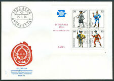 Switzerland First Day Stamp Cover