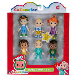 Bandai - Cocomelon Family and Friends - 6-Pack Action Figures