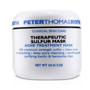 NEW Peter Thomas Roth Therapeutic Sulfur Masque - Acne Treatment 149g Womens