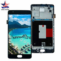 For Oneplus 3T A3010 LCD Display Touch Screen Digitizer Assembly+Frame_CA